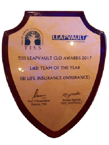 TISS Leapvault CLO Awards 2017 SBI Life